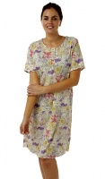Marlon Large Size Floral Nightshirt
