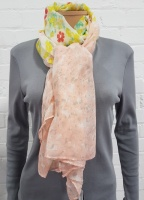 Ladies Fashion Floral Print Scarf