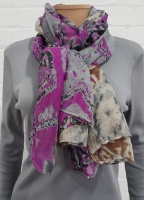 Ladies Fashion Abstract Print Scarf