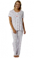 Marlon Pure Cotton Short Sleeve Pyjama