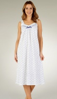 Slenderella Pure Cotton Wide Strap Nightdress