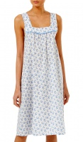 Slenderella Wide Strap Pure Cotton Nightdress
