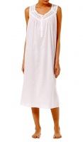 Slenderella Pure Cotton Sleeveless Nightdress