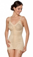 Naturana Zip Front Open Corselette