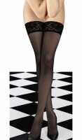 Playtex Perfect Elegance 20D Lacy Hold Up Stockings