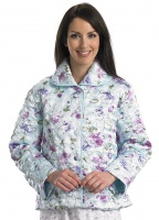 Slenderella Luxury Quilted Bed Jacket