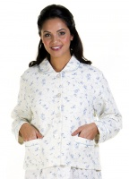 La Marquise Cotton Rich Mock Quilt BedJacket