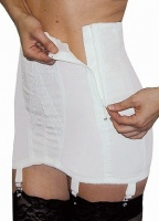 Rago 14'' Open Girdle with Side Zip