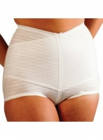 Silhouette Cross Over Panty Girdle.