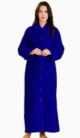 Slenderella Full Length Button Housecoat