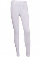 White Swan Cotton Leggings