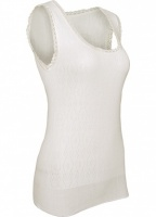White Swan Sleeveless Thermal Vest