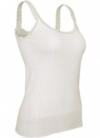 White Swan Camisole Thermal Vest