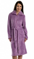 Slenderella Welsoft Zip Housecoat