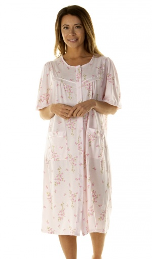 La Marquise Primrose In Bloom Button Through Nightdress