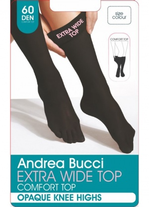 Andrea Bucci 60D Comfort Top Knee Highs