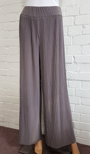Mudflower Crystal Pleat Trouser