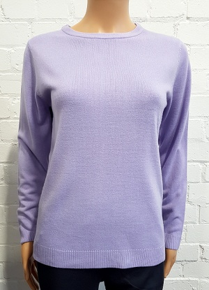 Classic Soft Cashmillion Round Neck Jumper