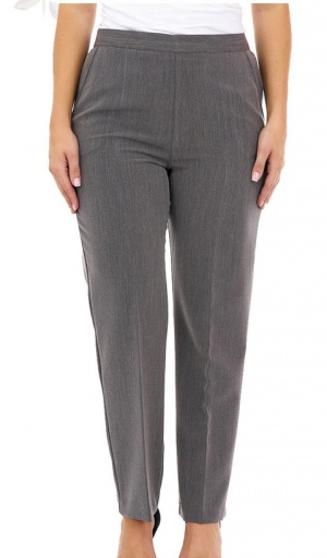 Half Elasticated Stretch 29'' Long Trouser