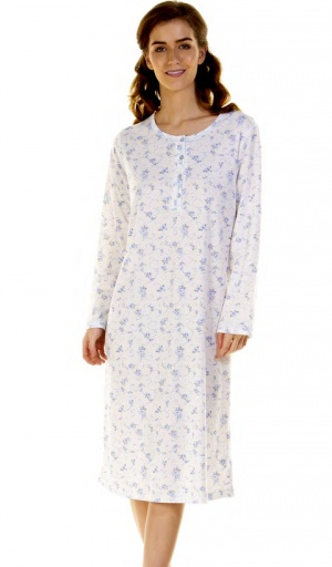 La Marquise Simply Rose Cuddleknit Nightdress