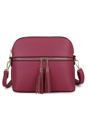 Long & Son Cross Body Tassel Bag