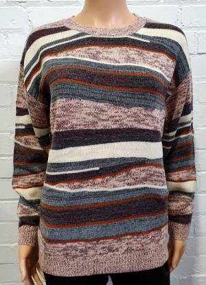 Mudflower Multi Stripe Jumper