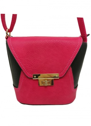 Superbia Hot Pink Cross Body Bag