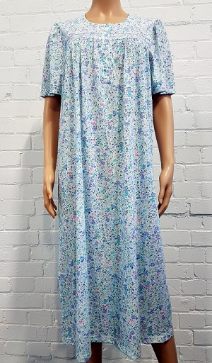 Pure Cotton Multi Floral Print Nightdress