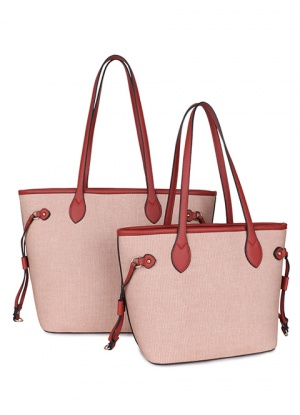 Long & Son Canvas Effect Tote Bag