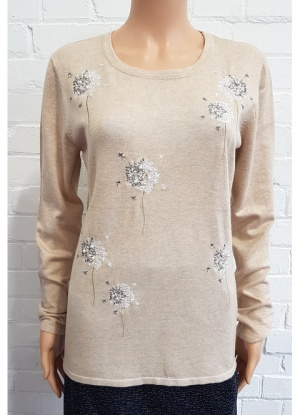 MudFlower Dandelion Clock Jumper
