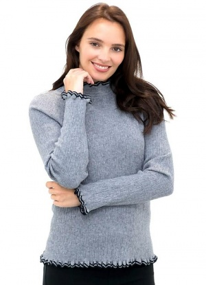 MudFlower Frill Detail Jumper