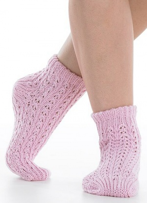Slenderella Crochet Bed Sock