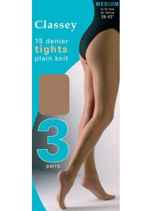 Tudorose 3 pair pack Tights