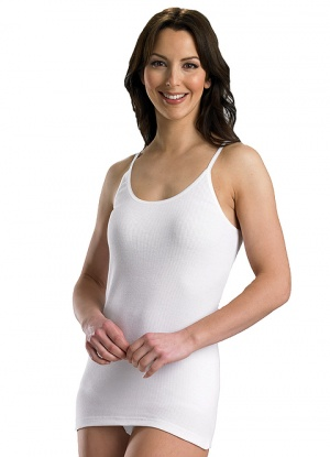 Chilprufe 100% Cotton Stretch Strap Cami