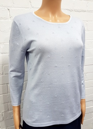 Claudia C Scatter textured Jumper