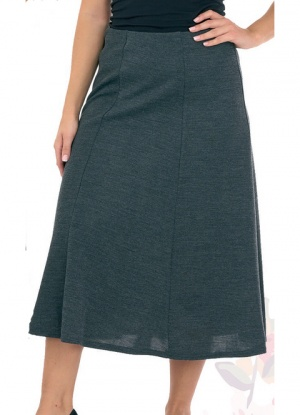 Classic Jacquard 5 Panel Skirt