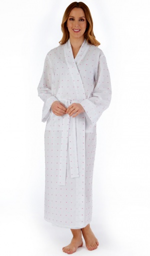 Slenderella Pure Cotton Long Wrap