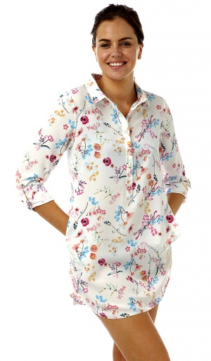 Marlon Long Sleeve Nightshirt