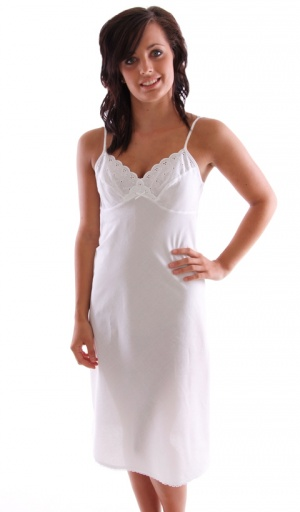 JD Collection 100% Cotton Full slip, Adjustable Strap