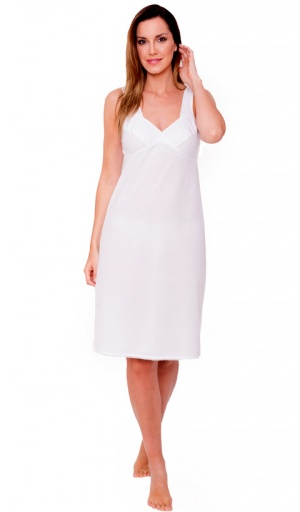 JD Collection 100% Cotton Full Slip with Wide Straps