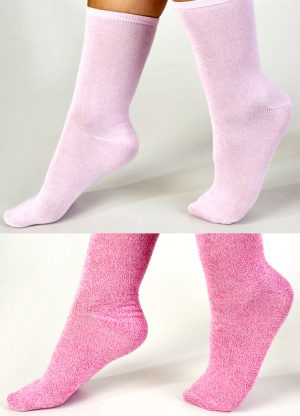 Slenderella 2 pack Luxury Micro Fibre Socks