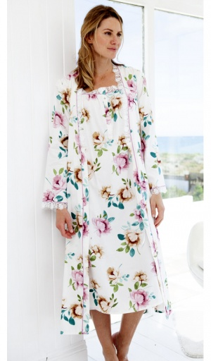 Nora Rose Lydia Cap Sleeve Nightdress