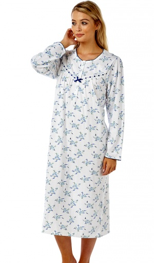 Marlon Pure Cotton Olivia Nightdress
