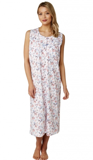 Marlon Clancy Sleeveless Nightdress