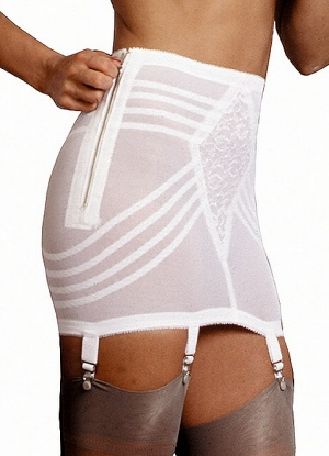 Rago Open Girdle with Side Zip