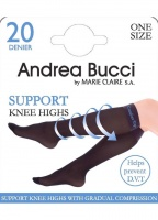 Andrea Bucci 30D Support Knee Highs