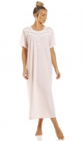 La Marquise Lavish Leaves Short Sleeves Nightdress