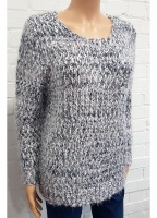 Claudia C Fluffy Chunky Knit Jumper