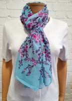 Scarf Small Floral Print