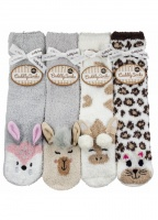 Taubert Snow Wildlife Cuddly slipper Socks